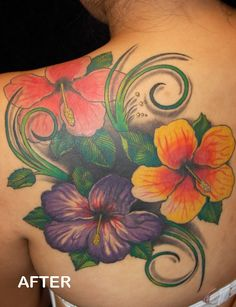 cover up: angels to flowers