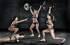 Cardio Queens   Reinas del Cardio  Women and Strength Training by Fitness Professional, Lisa Brown  Mujeres + entrenamiento + entrenando + ejercicio + pesas