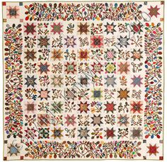 Stars & Sprigs quilt pattern by Kim MacLean
