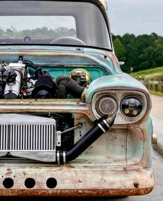 Vintage Trucks Muscle rat rod trucks and cars Rat Rod Trucks, Dodge Trucks, Cool Trucks, Pickup Trucks, Dually Trucks, Diesel Trucks, Diesel Rat Rod, Dodge Pickup, Big Trucks