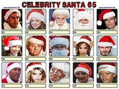 Celeb Santa Christmas Picture Quiz, Christmas Quiz, Christmas Pictures, Xmas, Body Shop At Home, The Body Shop, Gavin Henson, Aston Kutcher, Jason Manford