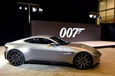 Meet the next Bond car: An Aston Martin DB10 #SPECTRE