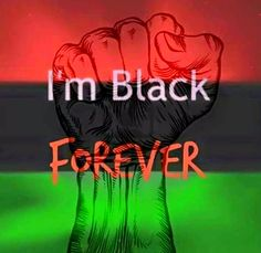 In the early seventies, these colors became a flag (no words) symbolizing a commitment for black unity,