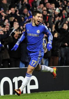 Eden Hazard... He's... So... CUTE
