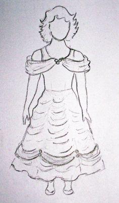 Ca fait longtemps que ce tuto attend sa publication. Après Blanche-Neige, la nounette a réclamé d'autres robes de ses héroïnes … comme elle a déjà une robe de princesse rose (pour elle ça compte pour la Belle au bois dormant), allons-y pour l'héroïne...