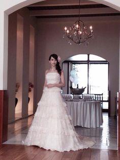 札幌でウェディングドレスの撮影です。 Shooting for wedding dresses in Sapporo.