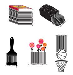Vanity Barcodes, for a fun and exciting way of displaying barcodes by transforming the boring space hogging barcodes into decorative design that still function as they are meant to be.