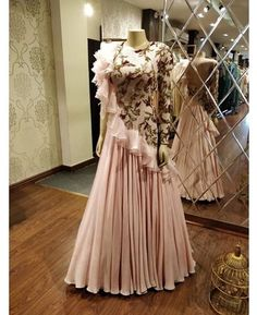 Indo western dress.