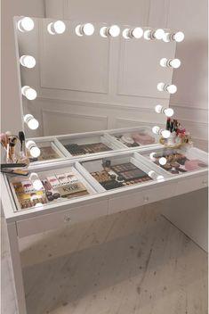 Vanity Room, Vanity Desk, Vanity Drawers, Vanity Mirrors, Vanity Tables, Vanity With Mirror, Make Up Desk Vanity, Makeup Tables, Sala Glam