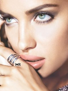 Irina Shayk. The eyes to drown in. The eyes have it.