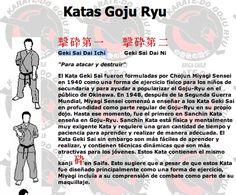 Katas Goju Ryu ( Geki Sai Dai Ichi.)..