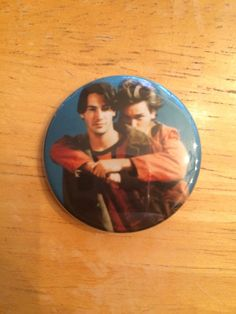 Keanu Reeves River Phoenix My Own Private Idaho Inspired Button by PastelPotter on Etsy https://www.etsy.com/ca/listing/261579536/keanu-reeves-river-phoenix-my-own