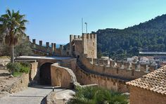 Castell de Capdepera, Mallorca, Balearic Islands, Spain