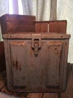 WWII Ammunition Box by UpTheAntiqueCo on Etsy