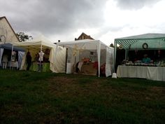 September 2015 - Künstlermarkt auf der Bischemer Kerb.