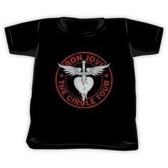 Bon Jovi Circle Tour Kids Clothes