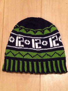 crochet seahawks hat pattern
