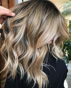 Blonde Dourado com Areia✨#romeufelipe #highlights #balayage