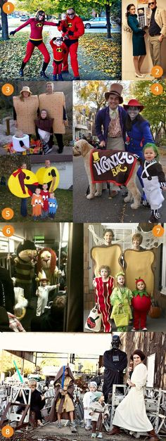 When we have a family, this is how we will dress up for Halloween.