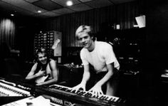 Bryan in the studio...