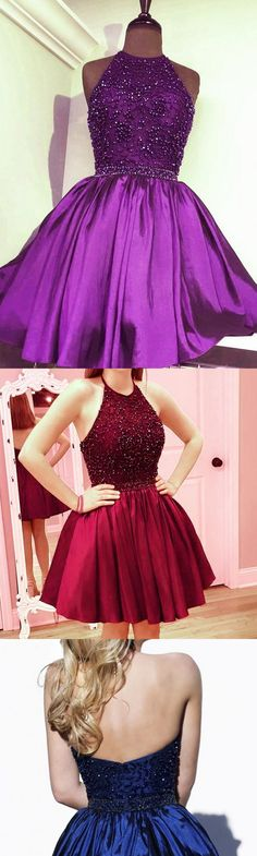 Cheap Prom Dresses, Short Prom Dresses, Prom Dresses Cheap, Blue Prom Dresses, Royal Blue Prom Dresses, Blue Short Prom Dresses, Homecoming Dresses Cheap, Halter Homecoming Dresses, Cheap Prom Dresses Online, Blue Homecoming Dresses, Prom Dresses Short, Royal Blue dresses, Cheap Homecoming Dresses, A-line/Princess Homecoming Dresses, Short Royal Blue Homecoming Dresses With Beaded/Beading Mini Halter Sale Online