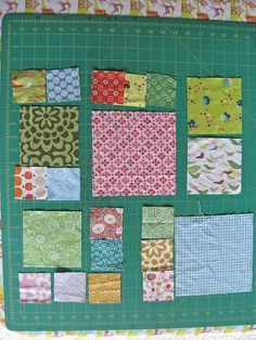 Tutorial to make a quilt using block sizes that fit together automatically and without alteration. Perfect for using scraps or solids pattern free.
