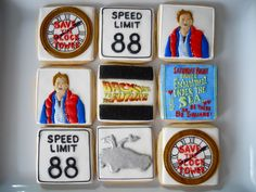I will never be able to make these...back+to+the+future+party | Oh Sugar Events: Back to the Future Cookies
