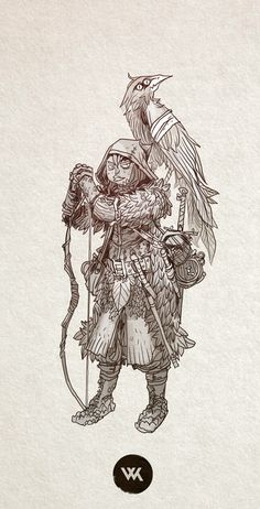 The end of normal, Morning warm up of a gnome ranger.