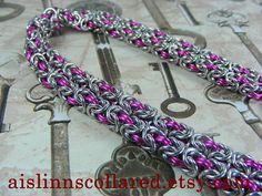 Double Byzantine BDSM Slave Collar Choker by aislinnscollared