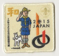 2015 World Scout Jamboree Tintin Patch badge, Girl Scouts, Girl Guides   eBay