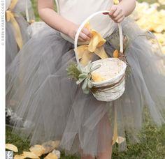 flower girl tutu. yes.