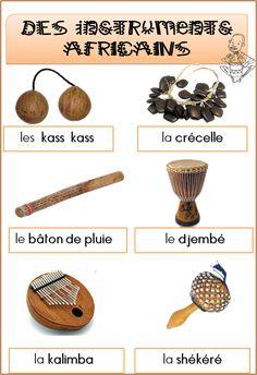 Les instruments africains                                                                                                                                                                                 Plus