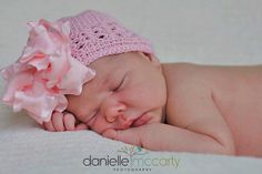 Newborn Hair Bow Hats Double Layered Double by HairBowsCouture, $10.00