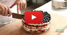 This No-Bake Cake Is Absolutely Fantastic