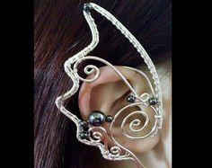 Alvara Elven Ear Cuff Wire arbeiten Elf von TheWireWitchWorkshop