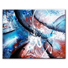 How to create an illusion of depth in Abstract Painting by Peter Dranitsin