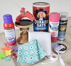 Project Nursery - DIY Headband Holder Supplies