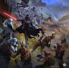 Imagine a movie that would span through all eras of Star Wars and it would be a . - Imagine a movie that would span through all eras of Star Wars and it would be a retelling of certai - Star Wars Jedi, Rpg Star Wars, Star Wars Fan Art, Star Wars Concept Art, Star Wars Clones, Images Star Wars, Star Wars Pictures, Stormtrooper Art, Star Wars Wallpaper
