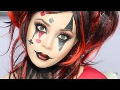 Download video: Jesterina/Harley Quinn Makeup Tutorial