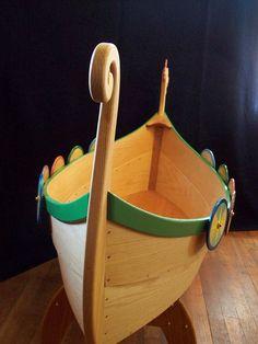 Viking Longboat Baby Crib Viking Nursery Pinterest