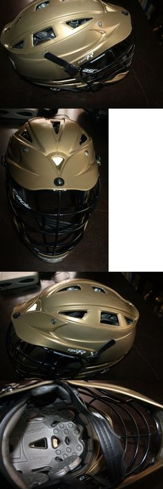 Protective Gear 62164: Cascade Lacrosse Helmet Cpxr Gold Helmet Black Facemask -> BUY IT NOW ONLY: $100.0 on eBay!