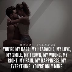 New Memes About Relationships Marriage Words Ideas My Everything Quotes, You Are My Everything, Marriage Words, Marriage Life, Just Love, Just For You, Romantic Love Quotes, Love Quotes For Him, Husband Quotes
