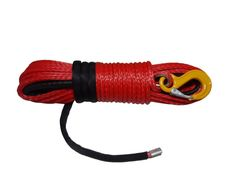 """1//2/""""*100ft Green Synthetic Winch Rope,ATV Winch Cable,Off Road Rope with Sheath"""