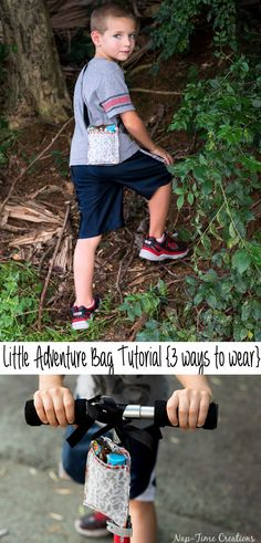 kids adventure bag sewing tutorial from-Nap-Time-Creations