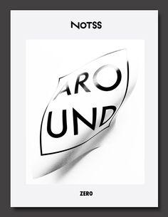 Notss Zine by Jackkrit Anantakul Type Design, Layout Design, Graphic Design, Cool Posters, Zine, Typography Design, Cover Design, Creative Design, Poster Prints
