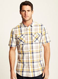 Every man needs a go-to checked shirt and this one ticks all the boxes.  Was £20.00 Now £10.00
