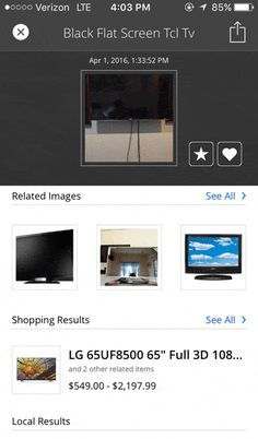 CamFind Visual Search