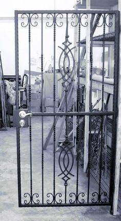 Wrought Iron Security Doors &