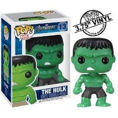 Funko Pop Marvel (Bobble): Hulk-Free S/H
