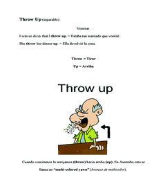 PHRASAL VERBS: THROW UP